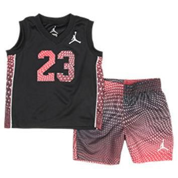 Infant Jordan Flight Pattern 23 Shorts Set