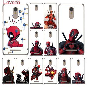 Deadpool Dead pool Taco Lavaza 3D Super Cool Marvel  Hard Phone Cover Case for Xiaomi Redmi 4A S2 6 Note 5 Plus 3 3S 4 Pro 4X 5A Prime Cases AT_70_6