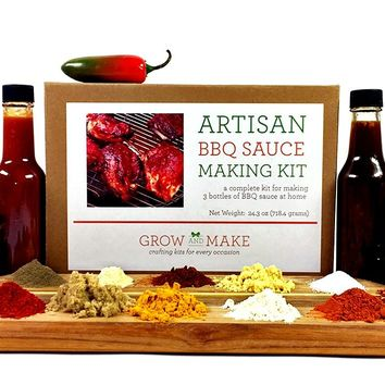 Artisan DIY BBQ Sauce Making Kit - Learn how to make your own barbecue sauce at home