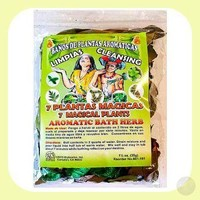 7 Magical Plants Aromatic Herbal Bath Mix
