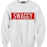 Swaggy Sweatshirt - Women Sweatshirt - Cozy