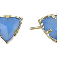 Kendra Scott Parker Earrings Gold Periwinkle - Zappos.com Free Shipping BOTH Ways