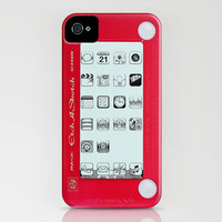 Etch a sketch iPhone iPhone Case by Nicklas Gustafsson | Society6