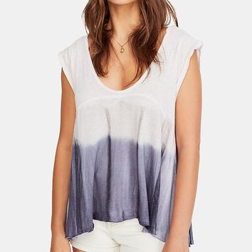 Free People Paradise Ombré Tie-Dyed Top & Reviews - Tops - Juniors - Macy's