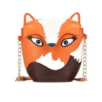 Cute Fox Graphic Shoulder Bag - OASAP.com