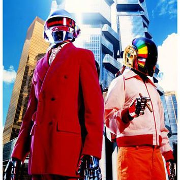 Daft Punk Band Portrait Poster 11x17