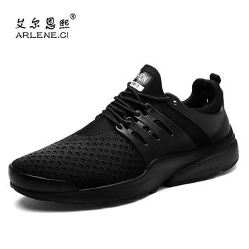 2018 New Arrival Men Air Mesh Tennis Shoes for Men Trainers Sport Shoes Men Sneakers Male Jogging Lace Up Outdoor Athletic Shoes