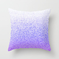 I Dream in Purple Throw Pillow by M Studio