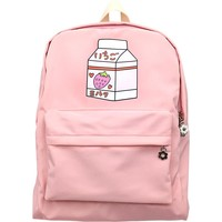 Kawaii Food/Animal Print Backpacks