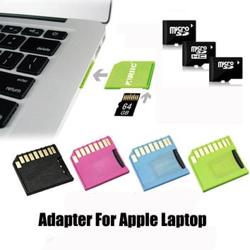AEGO Micro SD Card Adapter Reader microSDHC/microSDXC USB 2.0 Adapter for Apple MacBook Pro