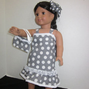 American Girl 18 Inch Doll Clothes Our Generation Doll Dress Doll Outfits By Sweetpeas Bows & More