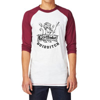 Gryffindor Quidditch Unisex Baseball Shirt, Harry Potter Quidditch Shirt