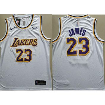 2018 19 #23 Lebron James Lakers Basketball Jersey | Best Deal Online