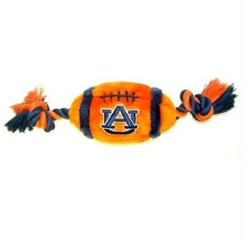DCCKT9W Auburn Tigers Plush Football Dog Toy