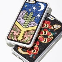 Wild West Embroidered Case