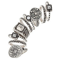 Relic Mega Ring Set - Rings - Jewelry  - Accessories