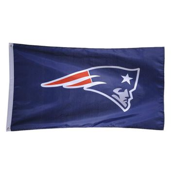 New England Patriots USA Premium Team Football Flag American Team Flag Banner For Home Outdoor Decoration Drop Shipping