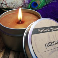 PATCHOULI Meditation Soy Candle