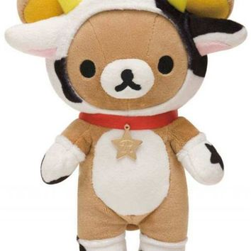 zodiac sign Taurus Rilakkuma plush bear San-X - Plush Toys - Stationery