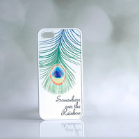 Peacock Feather iPhone Case + Inspirational Quote iPhone Case + Song Lyrics iPhone Case