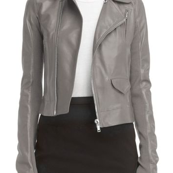 Rick Owens Classic Stooges Leather Jacket | Nordstrom