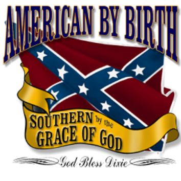 American By Birth - Square Sticker