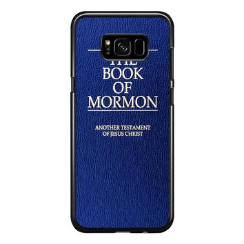 The Book Of Mormon Cover Book Samsung Galaxy S8 Plus Case