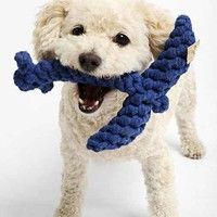 Jax & Bones Anchor Rope Dog Toy - Blue One