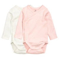 H&M 2-pack Long-sleeved Bodysuits $12.99