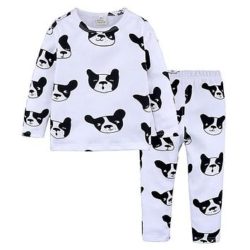 Fashion Children's Pajamas Cotton Pajamas for Girls Pajamas for Boys Cartoon Clothing Set for Babies Baby Pajamas Suits ST329