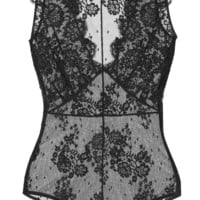I.D. Sarrieri - La Robe Noire Chantilly lace bodysuit