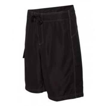 Plain Black or Red Board Shorts