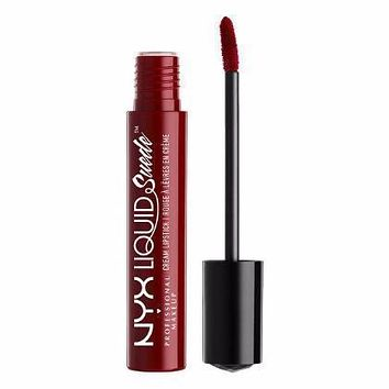 NYX Liquid Suede Cream Lipstick - Cherry Skies - #LSCL03