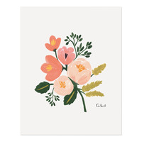 Rose Botanical Art Print by RIFLE PAPER Co. | Made in USA