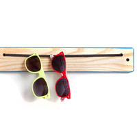 iWear Rack - Ash with Colored Edges. Organization for sunglasses and eyewear.