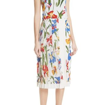 Tory Burch Carine Floral Dress | Nordstrom