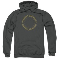 The Lord Of The Rings One Ring Licensed Adult Hoodie