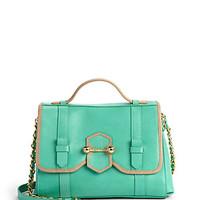 Botkier - Lucy Colorblock Satchel/Green