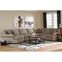 Ethan Transitional Sectional Sofa with Left Facing Cuddler Chair by Broyhill Furniture at Baer's Furniture