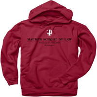 Indiana University Crimson Maurer School of Law Perennial II Hooded Sweatshirt