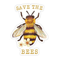 Save The Bees II Sticker