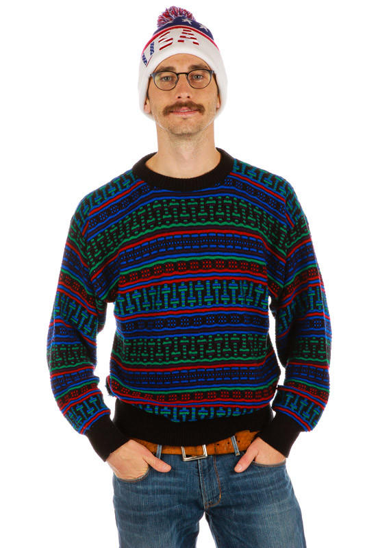 a very carlton ugly christmas sweater from shinesty christmas