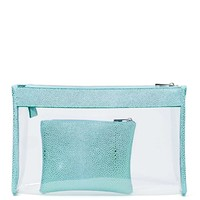 Nasty Gal In The Clear Clutch Set - Mint