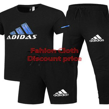 Adidas Response Soft Graphic Tee Black T-Shirt Shorts And Trousers Black