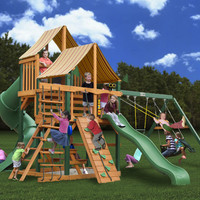 Gorilla Playsets Great Skye I Supreme WG Wooden Swing Set