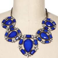 Hemitite/Royal Circle Statement Necklace