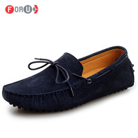 New 2014 Gommini driving shoes men loafers genuine leather mens boat shoe breathable male casual Moccasins Shoes lo003
