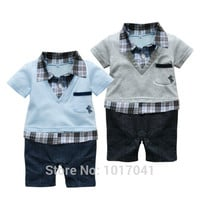 New 2016 Summer Hot Cotton Baby Boy Clothes Girl Baby Rompers Newborn Baby Clothes Infant Clothing