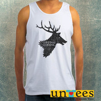 Christmas is Coming Clothing Tank Top For Mens