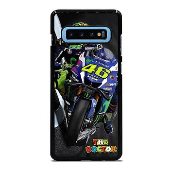 MOTO GP ROSSI THE DOCTOR STYLE Samsung Galaxy S10 Plus Case